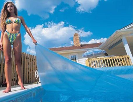 Blue Wave 16-Feet x 32-Feet Rectangular 12-mil Solar Cover