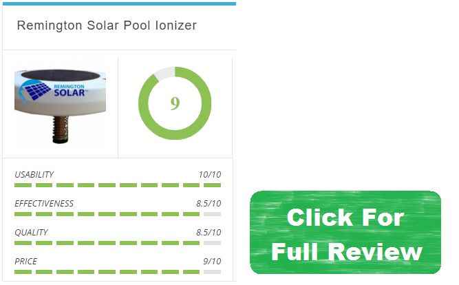 remington pool ionizer review