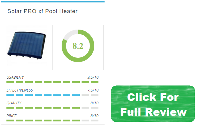 solar pro xf pool heater review